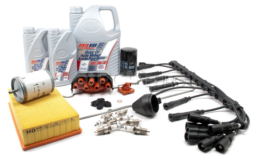 BMW Complete Tune Up and Filters Kit with Oil - E30TUNEKIT5-Full
