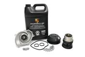 Porsche Engine Water Pump and Thermostat Kit - Geba/Genuine Porsche 94810603301KT2