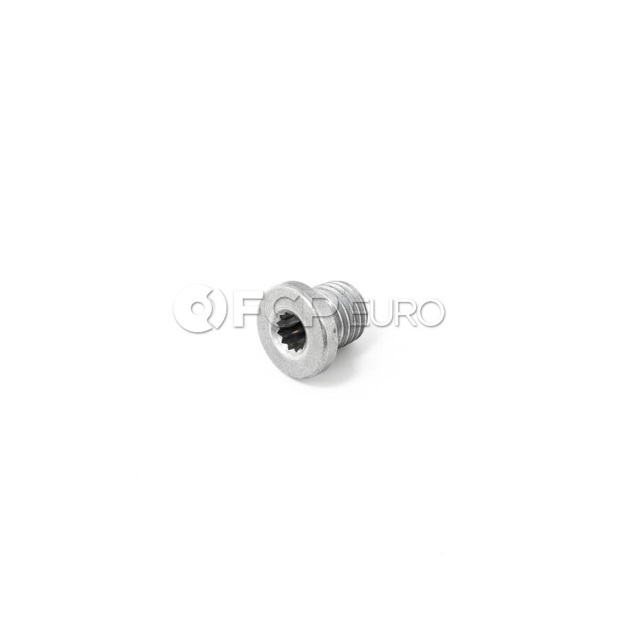 Audi Engine Oil Drain Plug (R8) - Genuine VW Audi N10637901