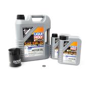Saab Oil Change Kit 5W-30 - Liqui Moly 3423KT