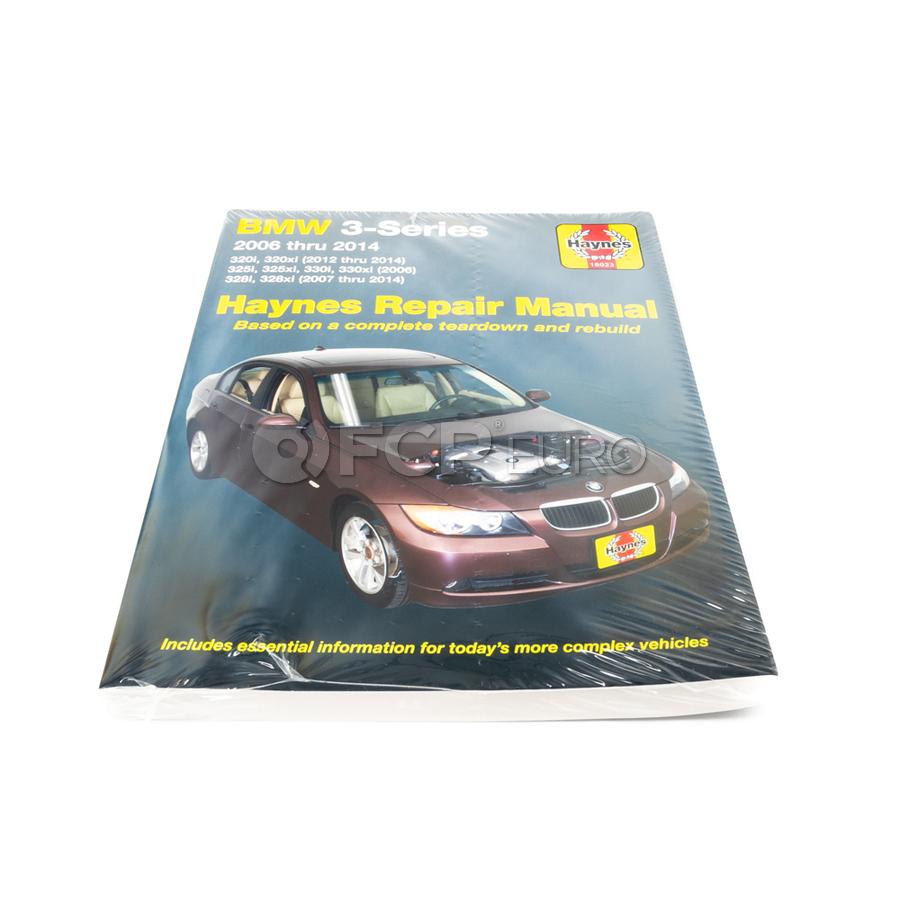 BMW Haynes Repair Manual - Haynes 18023