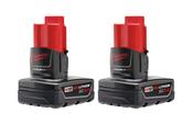 M12 12-Volt XC 3.0 Ah Battery Pack - Milwaukee 48-11-2412