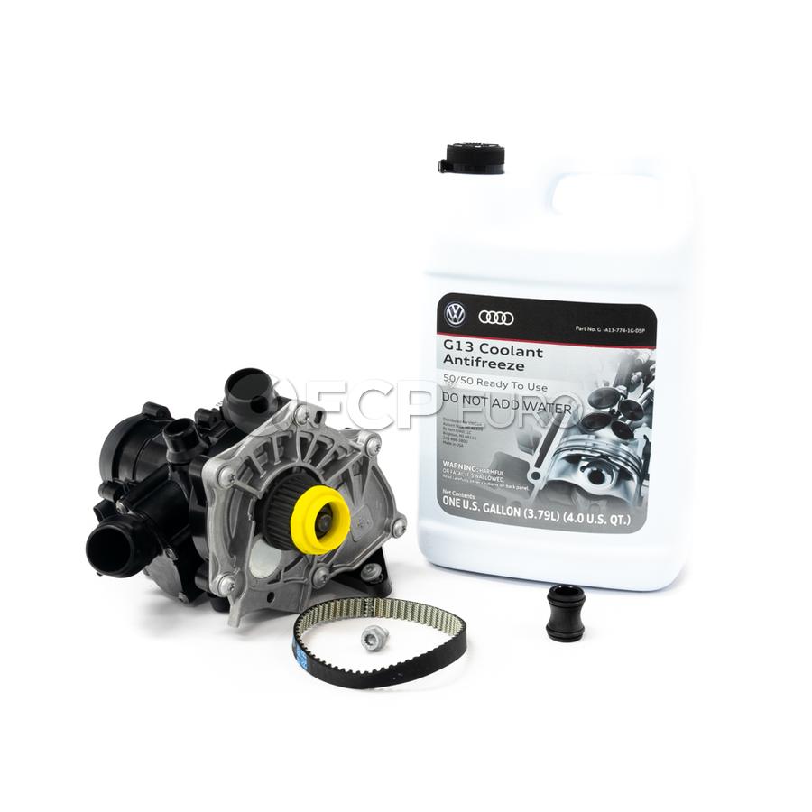 Audi Thermostat/Water Pump Kit - INA 06L121111MKT3