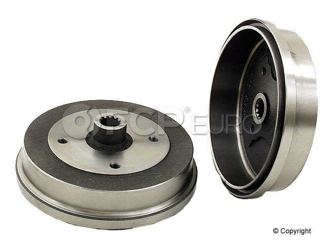VW Brake Drum - Zimmermann 113501615G