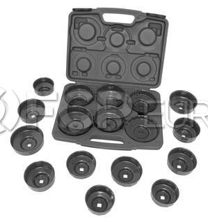 17 Piece Oil Filter Cap Wrench - Lisle 61500