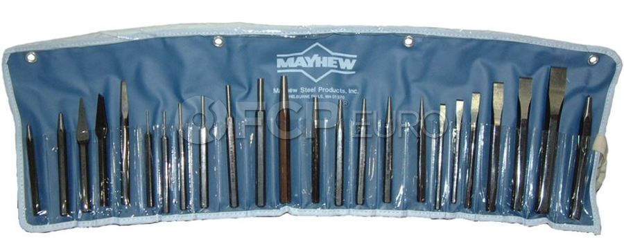 Punch & Chisel Kit (24pc) - Mayhew Steel Products 61050