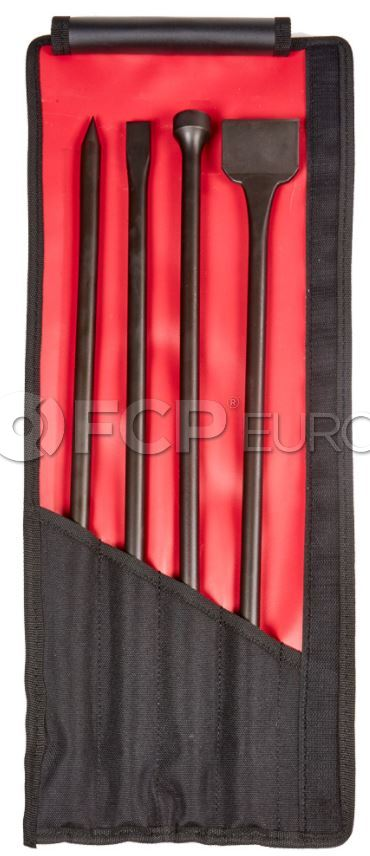 Long Mix Air Chisel Set (4pc) - Mayhew Steel Products 37328