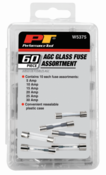 60-Piece AGC Glass Fuse Assortment - Performance Tool W5375