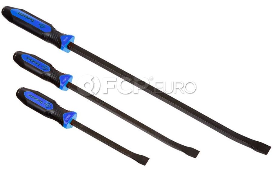 Blue Dominator Curved Pry Bar Set (3pc) - Mayhew Steel Products 14071BL
