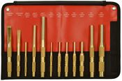 Brass Punch & Chisel Set (12pc) - Mayhew Steel Products 61397