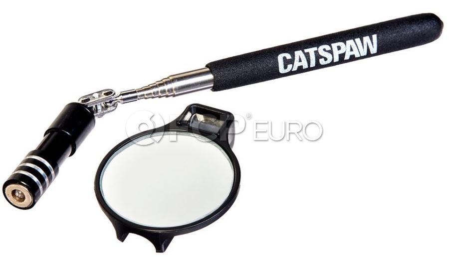 """Lighted Inspection Mirror (2"""" Diameter) - Mayhew Steel Products 17955"""