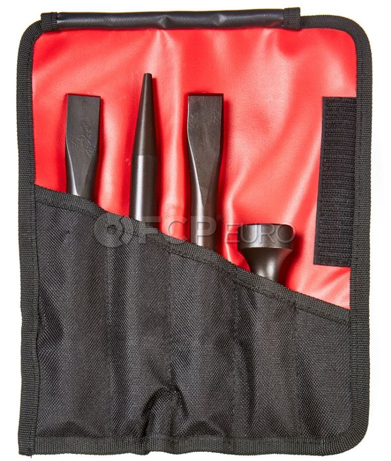 Heavy Duty Pro Air Hammer Tool Set (4pc) - Mayhew Steel Products 37326