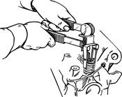 Valve Spring Compressor - Lisle 16750