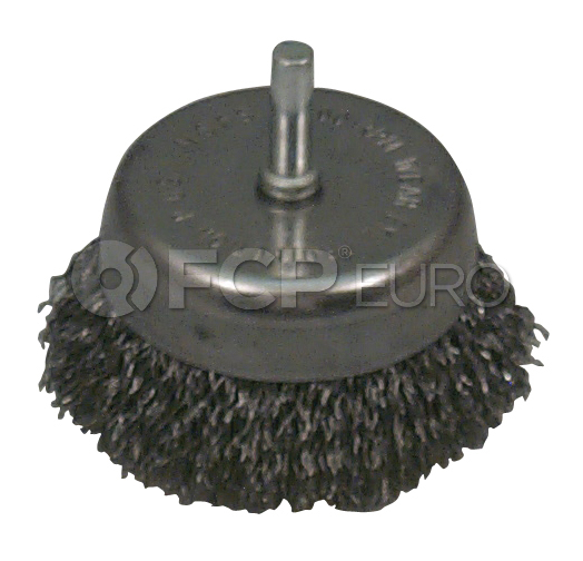 """2-1/2"""" Wire Cup Brush - Lisle 14020"""