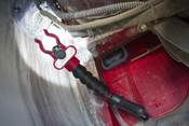 Flashlight Holder with Clamp - Lisle 70450