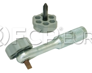 Right Angle Ratcheting Screwdriver - Lisle 64250