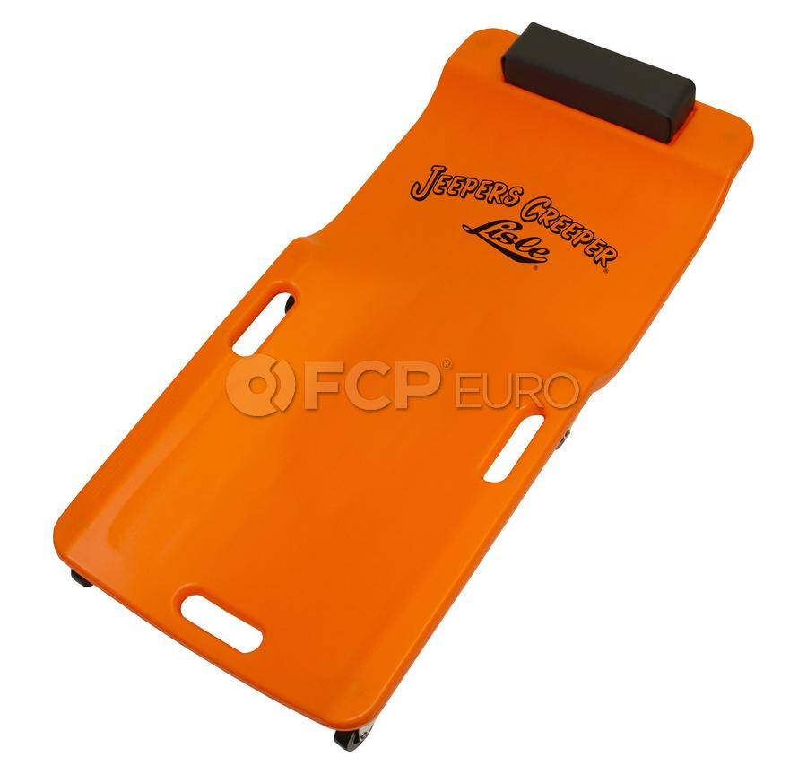 Low Profile Plastic Creeper (Neon Orange) - Lisle 93202