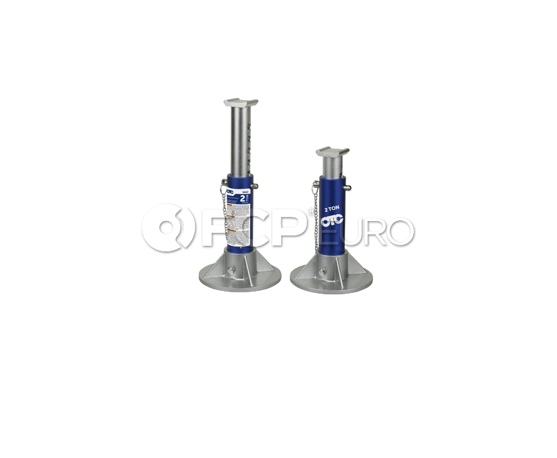 2 Ton Aluminum Jack Stand Set - OTC SA02