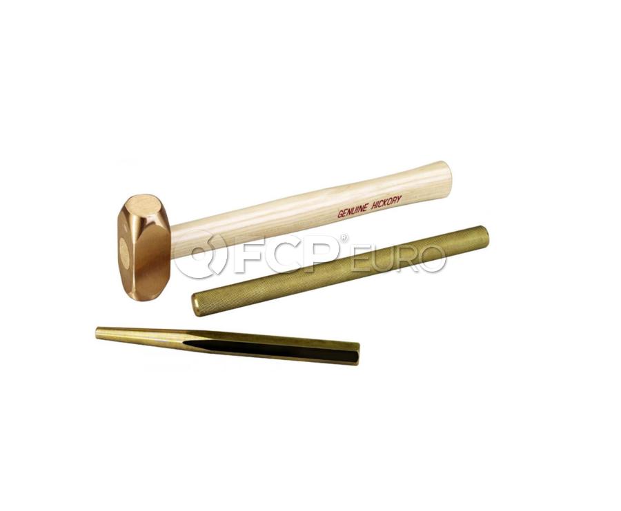 3 Piece Brass Hammer and Punch Set - OTC 4606