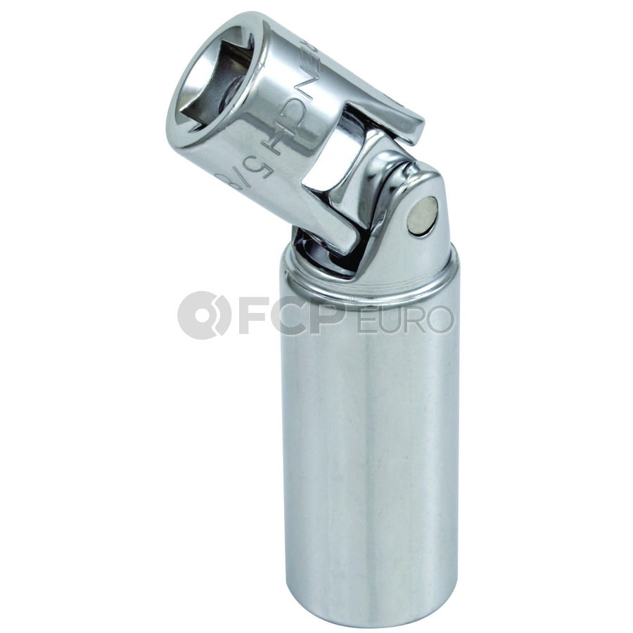 """3/8"""" Drive 6 Point 2-1/2"""" Universal Spark Plug Socket 5/8"""" - Gearwrench 80404"""