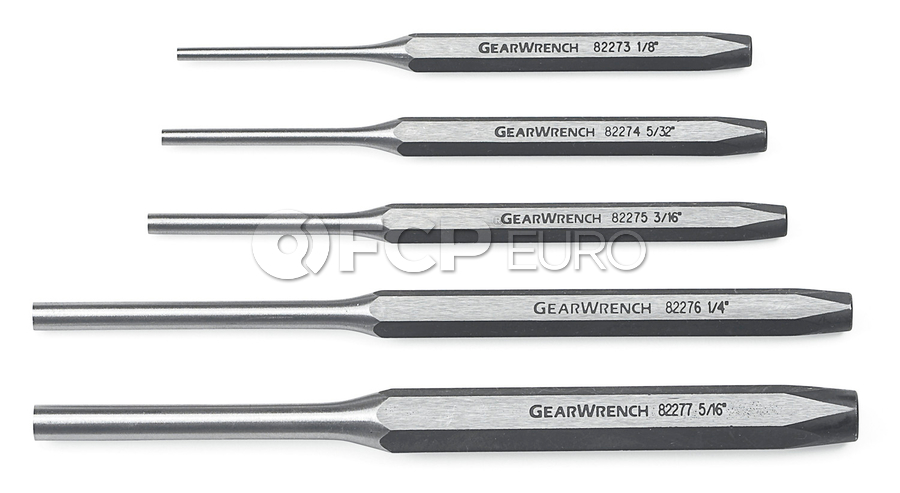 5 Pc. Pin Punch Set - Gearwrench 82309