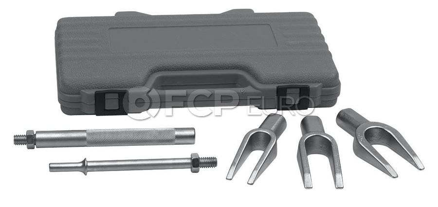 5 Pc. Pneumatic Tie Rod and Ball Joint Separator Kit - Gearwrench 41610