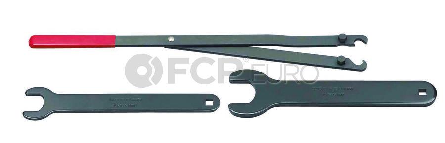 4 Pc. Pulley Holder & Fan Clutch Tool Kit - Gearwrench 3472