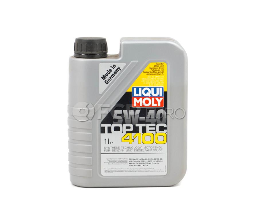 5W40 TOP TEC 4100 Engine Oil (1 Liter) - Liqui Moly LM2329