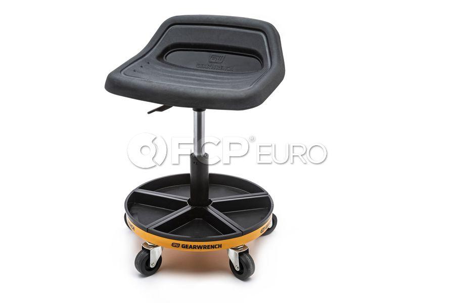"Adjustable Height Swivel Mechanics Seat 18"" to 22"" - Gearwrench 86994"