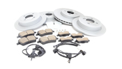 Mini Brake Kit - Zimmermann/TRW Ultra 34116858652KTFR