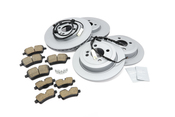 Mini Brake Kit - Zimmermann/TRW Ultra 34116858652KTFR2