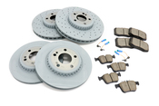 Mercedes Brake Kit - Zimmermann/TRW 0004212212KT1T