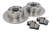 Audi VW Brake Kit - Zimmermann/Akebono 110139
