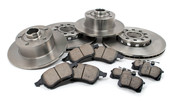 Audi VW Brake Kit - Zimmermann KIT-A4BRAKEKIT
