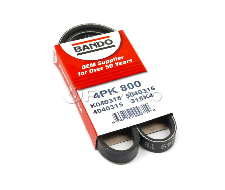 Serpentine Drive Belt - Bando 4PK800