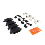 Volvo Brake Pad Set - TRW Ultra 30671576