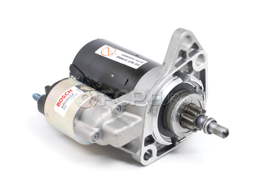 VW Starter Motor - Bosch 020911023NX