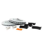 Mercedes Brake Kit - Genuine Mercedes/TRW Ultra 000421171207KT