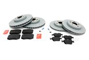 Mercedes Brake Kit - TRW Ultra 0004212212KT1T