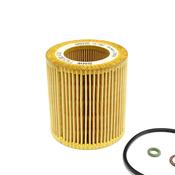 BMW Engine Oil Filter Kit - Genuine BMW 11427953129