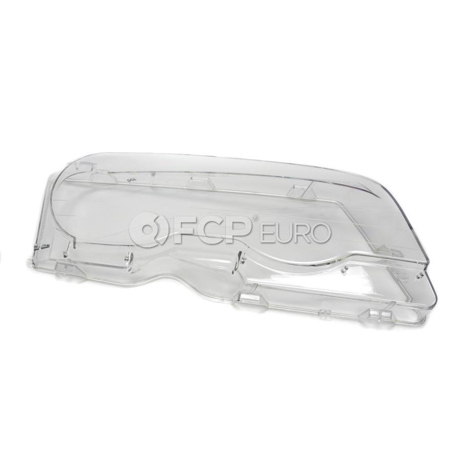 BMW Xenon Headlight Lens - Genuine BMW 63126929566