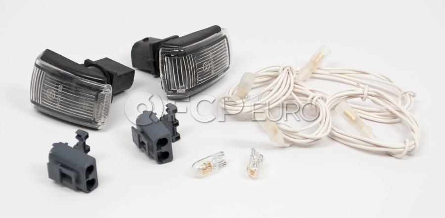 Volvo Side Marker Light Adapter Kit (All Clear) - Genuine Volvo 9178885KIT