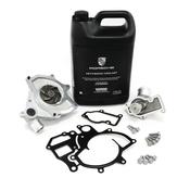Porsche Engine Water Pump and Thermostat Kit - Geba/Borg Warner 996WTRPMKT1
