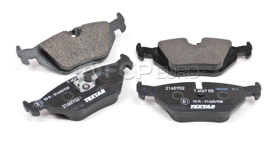 Rear Brake Pad Set Textar 34216778168