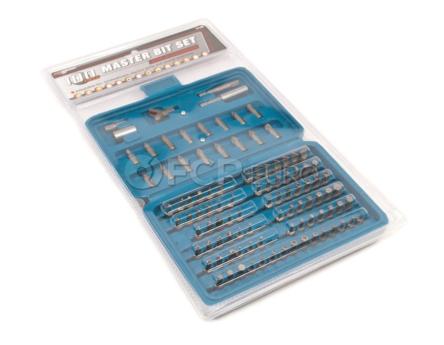 100 Piece Specialty Bit Set - Performance Tool W1389