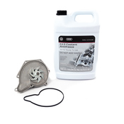 Audi Water Pump Kit - Hepu 06E121018AKT3
