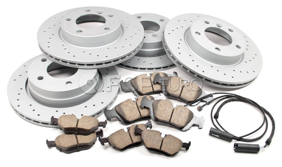 BMW Performance Brake Kit - Akebono/Zimmermann E36BRAKEKIT2
