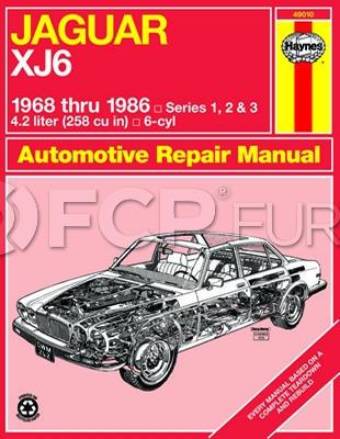 Jaguar Haynes Repair Manual - Haynes HAY-49010