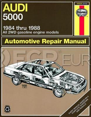 Audi Haynes Repair Manual - Haynes HAY-15026