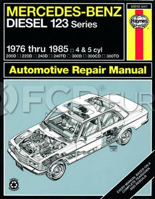 Mercedes Benz Haynes Repair Manual - Haynes HAY-63012